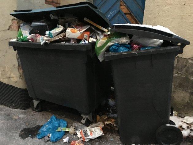 Søpla flyter fortsatt i Oslo