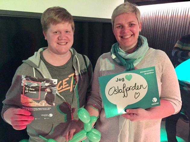 Olav Persson Ranes og Catrine Fladsrud Vold fra Nordstrand Venstre ønsker å gjøre en innsats for å redde fjorden fra å drukne i søppel. De deltar på Venstres landsmøte i helga. I tillegg arrangerer de strandrydding
