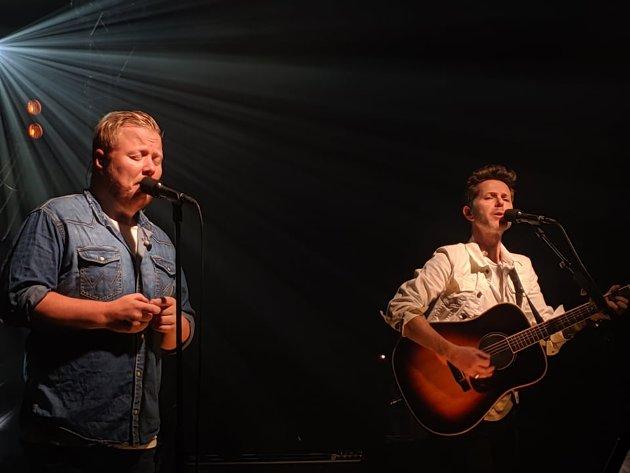 Kurt Nilsen og Espen Lind, halvparten av kvartetten sammen med Askil Holm og Alejandro Fuentes.