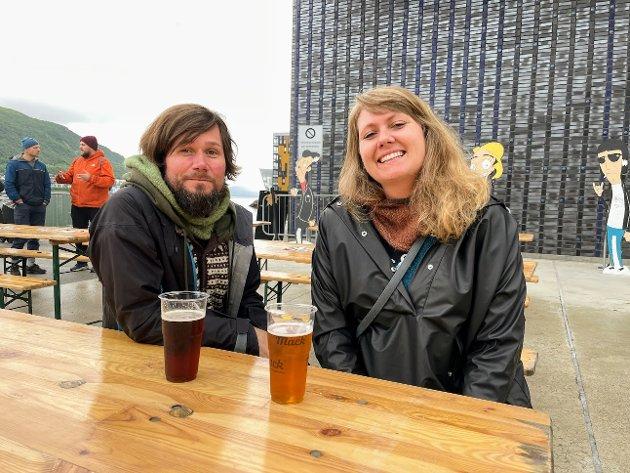 Tony Gonzalez (37) og Vilde Amundsen (32).