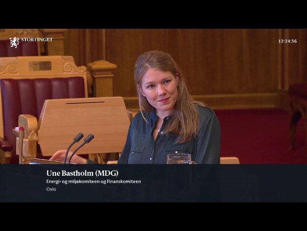VINNER VELGERE: Une Bastholm rog MDG gjorde det bra i Skolevalget.