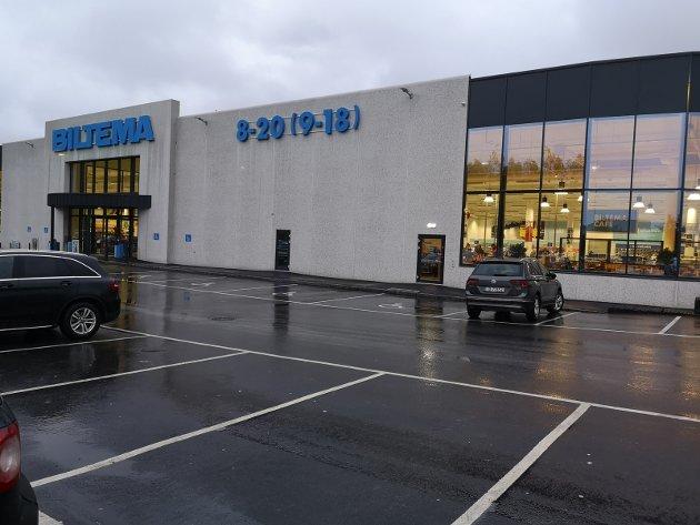 VAREHUS-KAFÉ: Biltema har fått et stort varehus på Kallerud, og sammen med den en kafé til å mette sultne kunder.