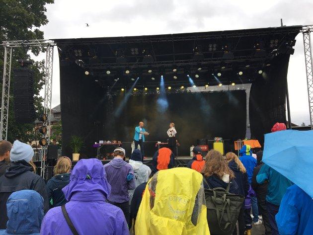 Håvard Paulsen og Linn-Agnete Olsen fra Jubeltube.