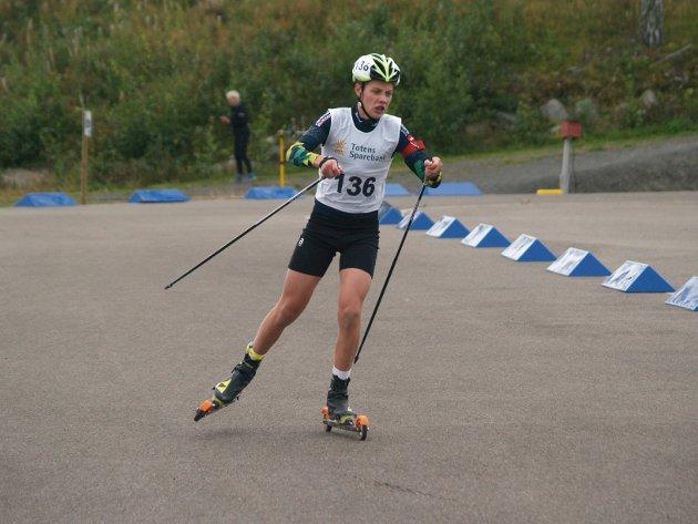 Tobias Gigstad-Bergene gikk helt til topps i sin klasse i supersprintfinalen.