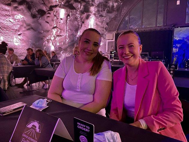 BLIR STAS: Tonje Moberg og Christine Dokka var også å se i Fjellhaven fredag.