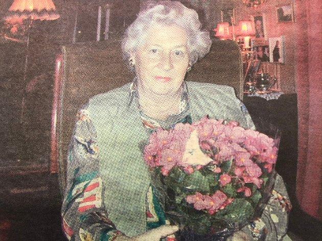 Margit Wiborg var den første som fikk julegleden av ØB i desember 2000