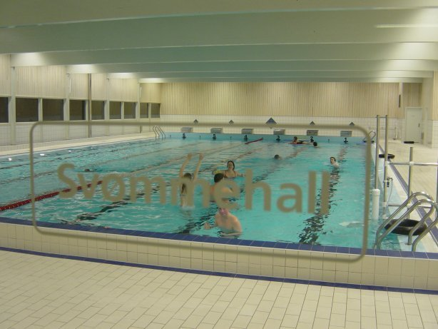 FEM ÅR: Gry Bolstad og Trym Thorsen har vært trofaste kunder i Nordbytun svømmehall i fem år.