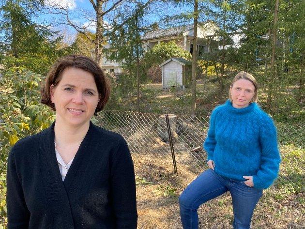 Solveig Schytz og Camilla Hille, Stortingskandidater for Venstre