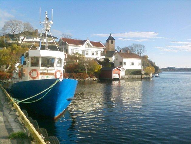 Brevik, sett mot Sylterøya