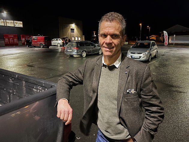 BYGGER LAG: Kommunedirektør i Åmot, Stein Halvorsen, er godt i gang med å bygge et spennende lag.