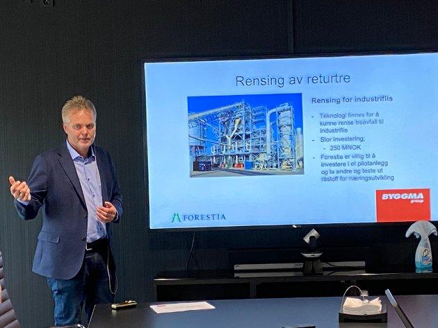SKUFFET: Administrerende direktør Terje Sagbakken i Forestia AS var skuffet over at prosjektet som kunne gi hundre nye arbeidsplasser fikk nei.