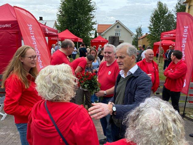LOVNADER: Jonas Gahr Støre lovet en vekstplan for Innlandet med staten som en medspiller.