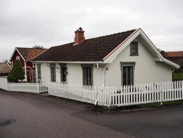 Gamlevegen 14 er en av fem nominerte til Porsgrunn kommunes byggeskikkpris som deles ut i Ælvespeilet lørdag 17. november.