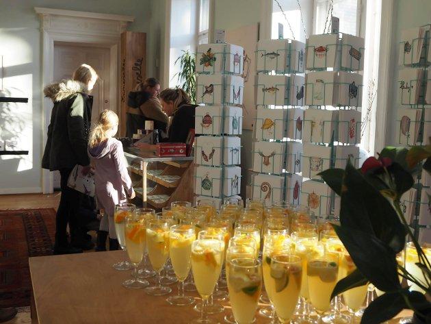 Lansering av Emmeselles nye serie med motiver inspirert av årstidene på Villa Frednes.