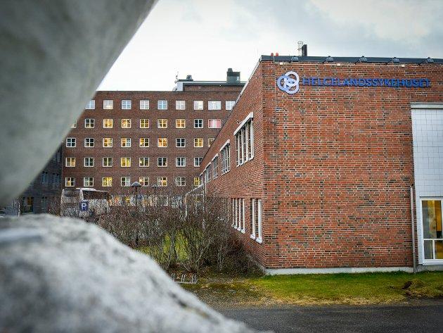 Helgelandssykehuset avdeling Rana sykehus.