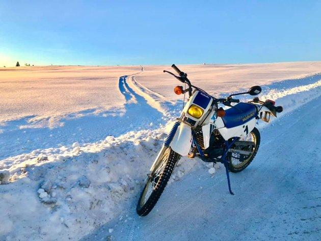 Klokka 6 i dag tidlig var det - 17 grader i Brumund. Det må ha vært en kald kjøretur.