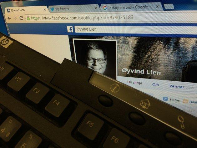 Nyhetsredaktør Øyvind Lien logger av i helgen. Skal du nå ham, får du forsøke på «gammelmåten».