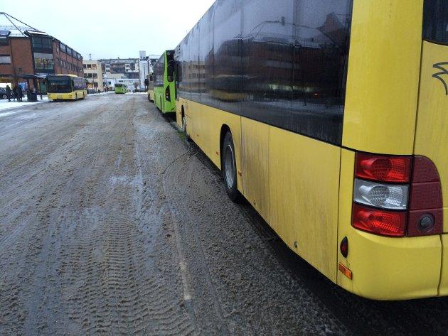– Når vil bybussene bli erstattet med hybridbusser, spør Hans Høyer.