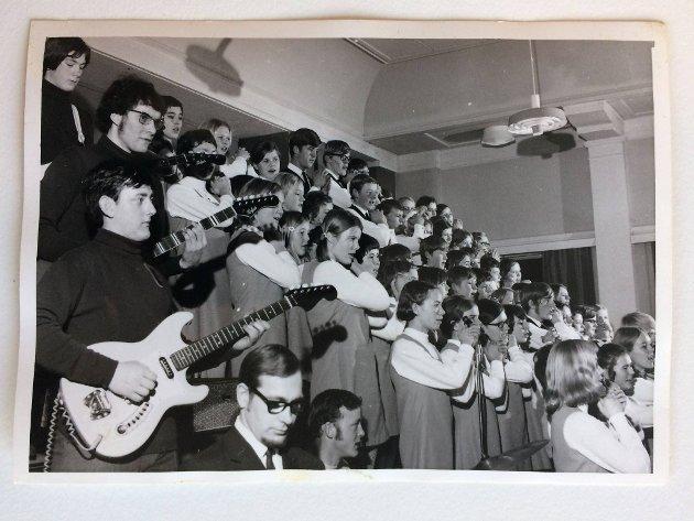 Ten Sing på slutten av 60-tallet.