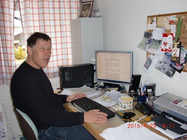 Ole J. Andersen, 2. kandidat Frp. Foto: Privat