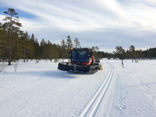 BEHOV FOR KUNSTSNØ: – I flere år har ønsket om stabile snøforhold vært tema i skimiljøet, skriver Axel Holt.