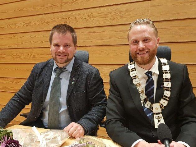 Varaordfører og ordfører i Ullensaker kommune