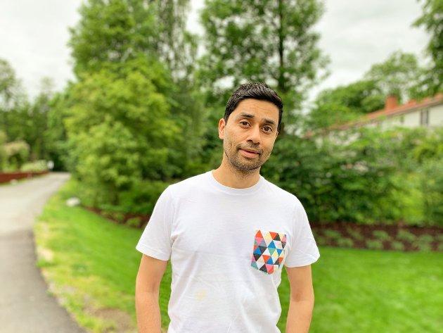 Noman Mubashir vokste opp i Lørenskog og er i dag journalist og programleder i NRK.