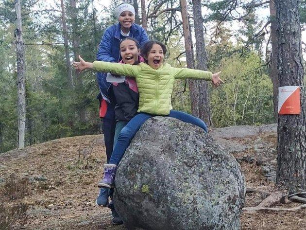 """Mange barnefamilier bruker turorientering som """"skattejakt"""""""