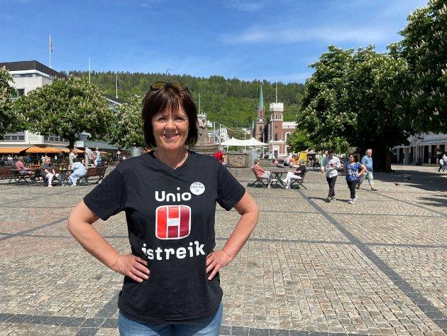 Linda Lavik, Fylkesleder Norsk Sykepleierforbund Viken, Viken