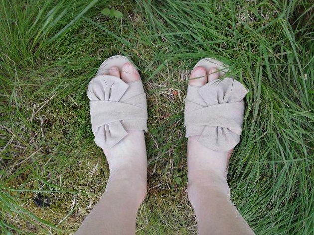 – Føtter er fantastiske! Stå trygt og stødig på de føttene dere har, uavhengig av størrelse, oppfordrer innsenderen.