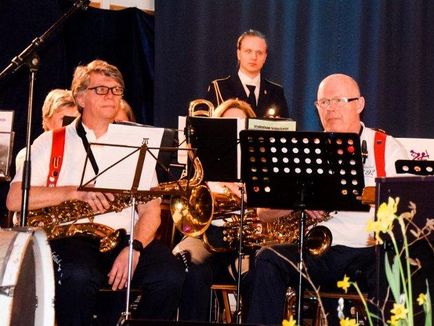 OPTIMISTISKE: Hallvard Tolner Wathne fra Åros og Frydenlund senior- og skolekorps byr på futuristisk spillmusikk.