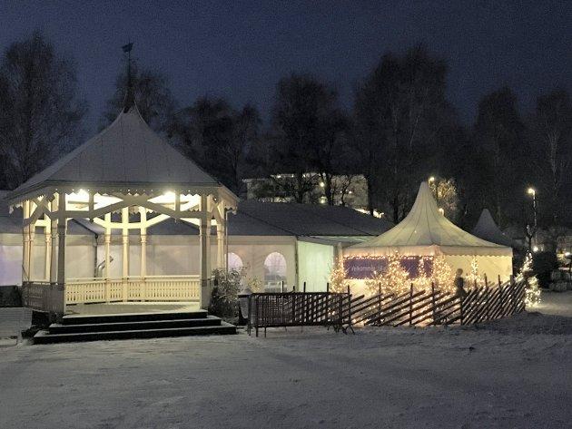 KURBADHAGEN: Teltet er et verdifullt bidrag til Stiftelsens økonomi, skriver Per Arne Dahl og Svein Ingebretsen.