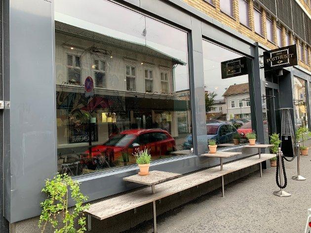 SENTRALT: Posthuset holder til i Storgata i Sandefjord sentrum.