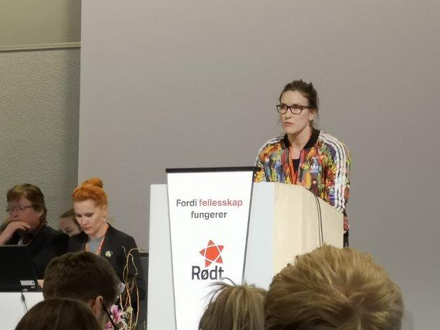 Nå er det viktig å ha tiltak for de som ikke er trygge hjemme sier Maren Kurdøl i Rødt