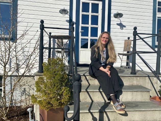 Ragnhild Frantzen og familien har nettopp flyttet inn i boligen fra 1920.
