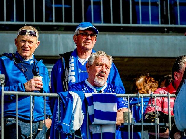 Disse var på Sarpsborg Stadion og så Sarpsborg 08 slå Vålerenga 2-0. FOTO: Thomas Andersen