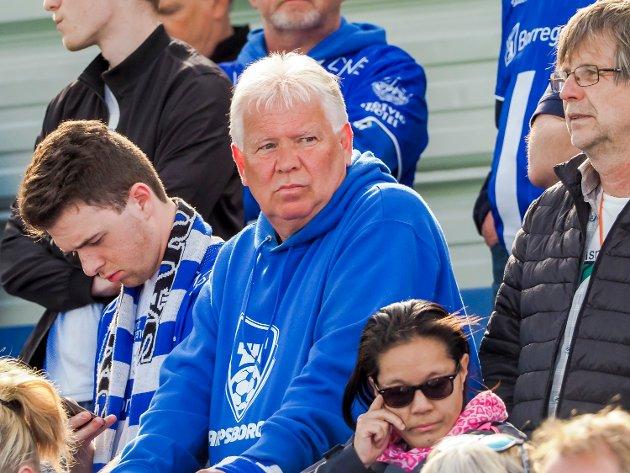 Disse så kampen mellom Sarpsborg 08 og Brann. FOTO: Thomas Andersen