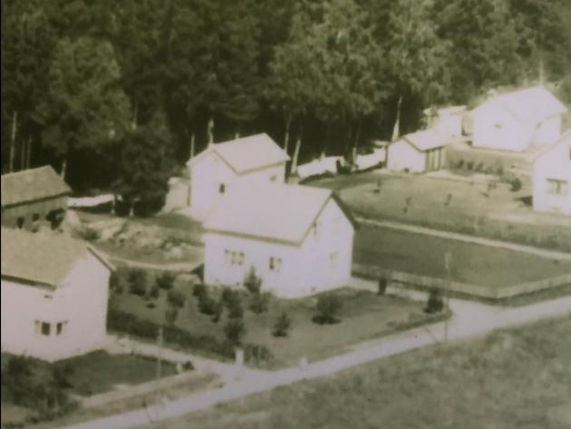 WINTHERHI: Boligen går under navnet Winterhi, oppkalt etter Madeleine Ulsness' oldemor og oldefar Violet og Rolf Winther som bygget huset i 1948 til 1952.
