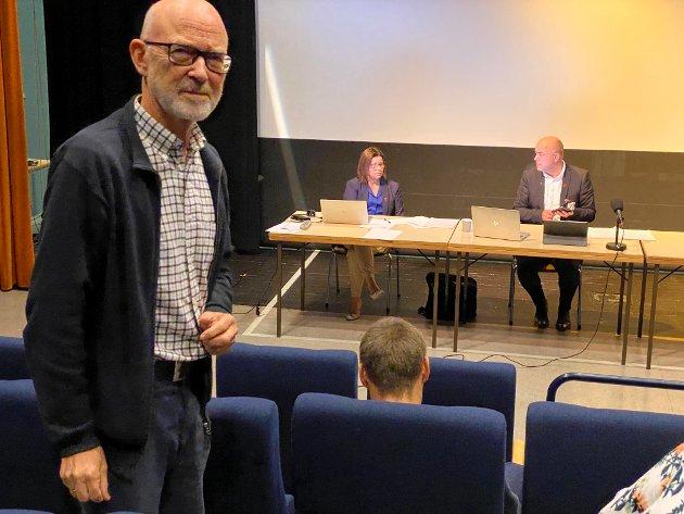 Jan Olav Fretland (SV) meiner det er eit dårleg signal å ha ein stortingsbenk med berre menn.