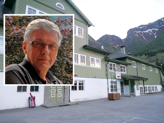FRESVIK SKULE: Det viktigaste, både for ordføraren og kommunestyret, burde vera å sikra nærskuletilbodet for barna i Fresvik, skriv Ingvar Laberg.