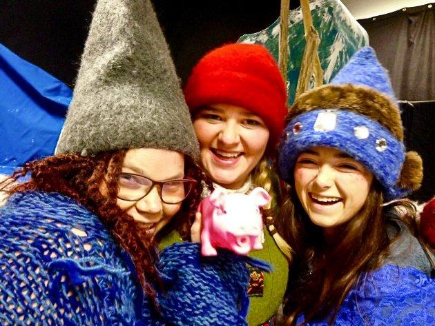 Jul i Blåfjell av og med elevene på barne- og ungdomsarbeiderfag ved Notodden videregående skole.