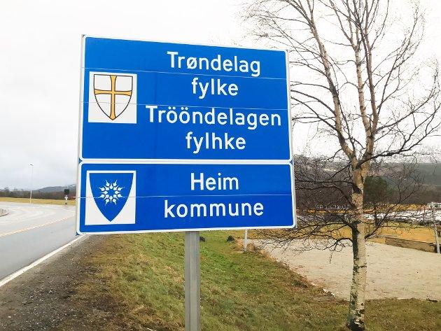 Fra nyttår er Halsa blitt en del av Heim kommune og Trøndelag fylke.