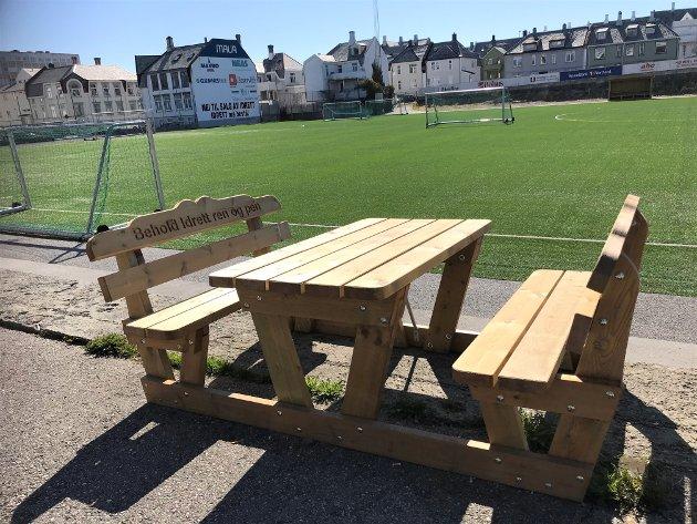 Uaktuelt å selge Idrettsplassen, mener Venstre i Kristiansund. Foto: Ragnhild Helseth