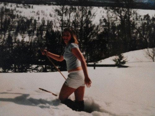 GODT KLEDD FOR TUR: Ut på tur i den ville snøen