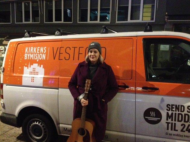 FIN KONSERT: Agnes Stocks konsert på Torvet søndag var en fin opplevelse, mener Kay-Severin Bredesen.