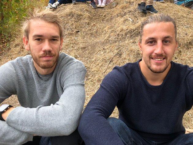 Filip Svele og Morten Kapi