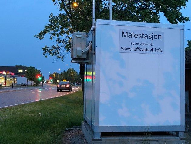 FØLG MED: Du kan selv sjekke målingene av luftkvaliteten i Tønsberg, skriver Suzy Haugan.