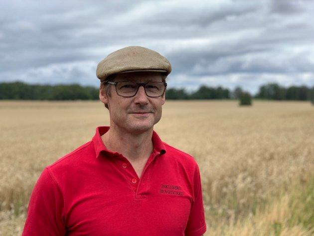 UTBYGGER: Carl Nicolaus Wedel Jarlsberg vil bygge tinghus på Korten. Turgåer Tonje Marthinsen reagerer sterkt på det i dette leserbrevet.