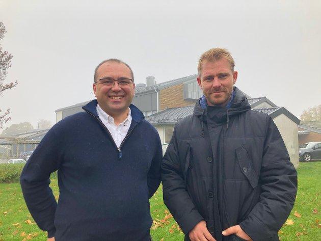 Joachim Bræk Poppe-Holmdahl og Håvar Bettum