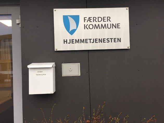 FÅR SKRYT: Pårørende Berit Maurstad er meget fornøyd med hjemmetjenesten i Færder kommune.